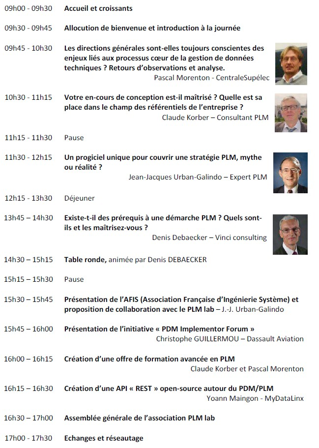 back to basics conférence PLM