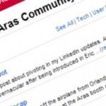 aras community tutorial