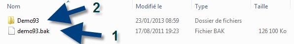 archive backup Aras demo system