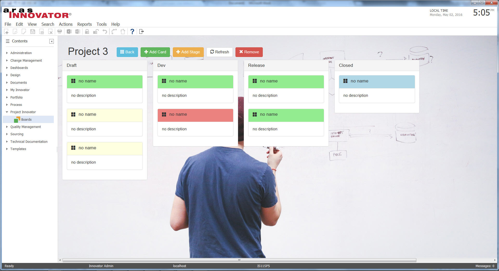 dashboard startup 1